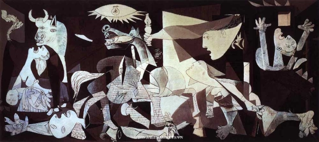 Guernica (1937) của danh họa Picasso